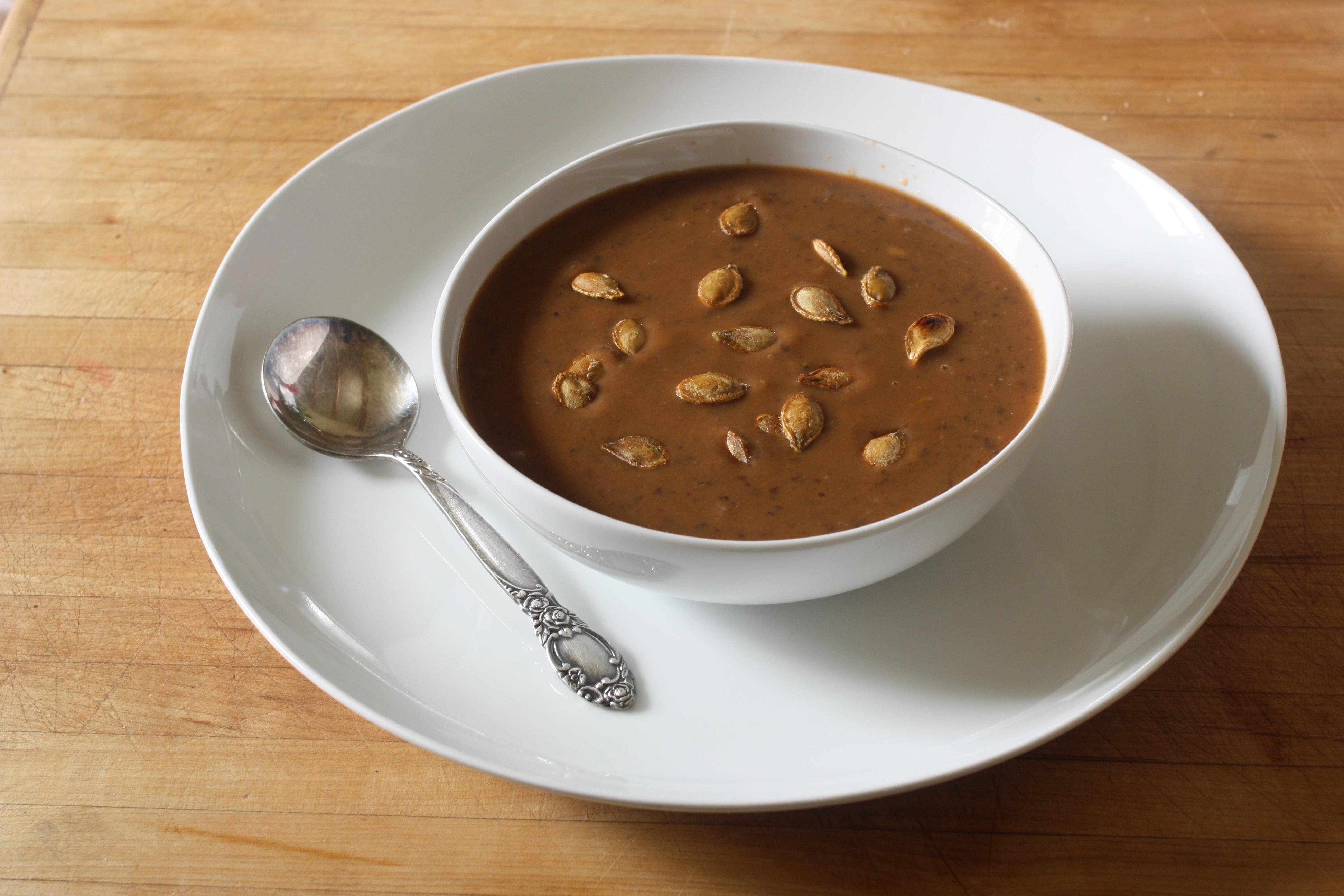 Smitten Kitchen Black Bean Pumpkin Soup